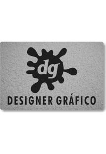 Tapete Capacho Designer Grafico - Prata