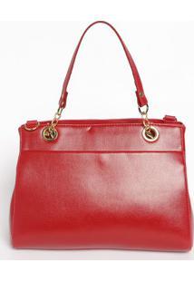 Bolsa Lisa Com Bolsos - Vermelha- 21X27X11Cmmr. Cat