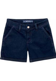 Bermuda Jeans Feminina Hering Na Modelagem Slim