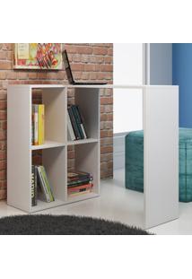 Mesa Para Computador Escrivaninha Bc 42-06 Branco - Brv Móveis