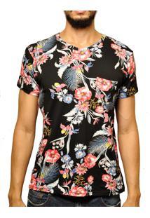 Camiseta Andy Roll Clothing Flanela Cocco Preta