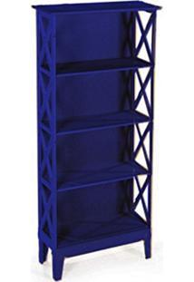 Cristaleira Colonial 2 Portas Atz 81 - Azul Royal