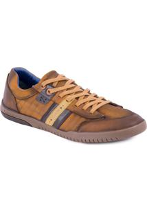 Tênis Ferracini Casual Lenox Fly/Chocolate 40