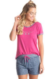 Pijama Star Curto