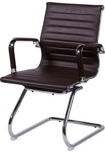 Cadeira Office Eames Esteirinha Fixa Or-3301 – Or Design - Café