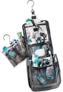 Necessaire Para Viagem Wash Center Ii Preta Leve E Compacta - Deuter 707050