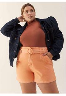 Jaqueta Manga Bufante Almaria Plus Size Izzat Jean