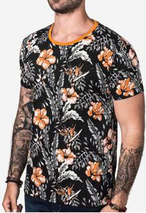 Camiseta Orange Foliage 102743