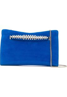 Jimmy Choo Clutch 'Venus' - Azul