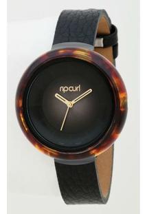 Relógio De Pulso Ripcurl Mist Acetate - Feminino-Marrom