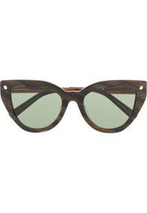 Dsquared2 Eyewear Óculos De Sol 'Alisha' - Marrom