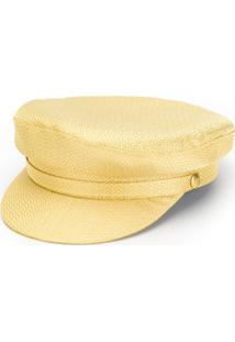 Farfetch. Chapéu Feminino Amarelo Laranja Cetim Seda Metálico ... 2b4a8567c58