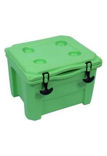 Caixa Térmica Cooler 15 Litros Verde Lima Brudden Náutica