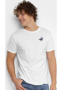 Camiseta Polo Up Bordado Masculina - Masculino