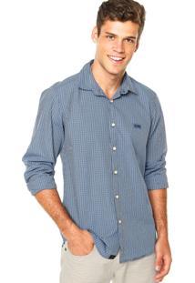 Camisa Triton Regular Azul