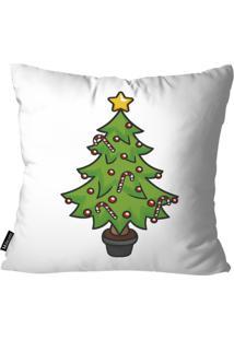 Capa Para Almofada Mdecor De Natal Branco