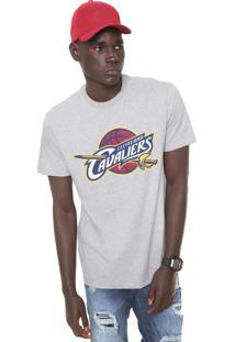 Camiseta New Era Cleveland Cavaliers Cinza