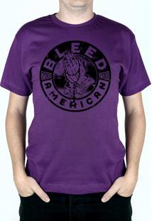 Camiseta Bleed American Prayer Roxo