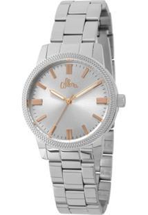 Relógio Allora Feminino - Feminino-Prata