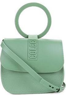 Bolsa Colcci Mini Bag Dubai Feminina - Feminino-Verde