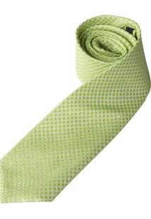 Gravata Verde Texturizada - Uni
