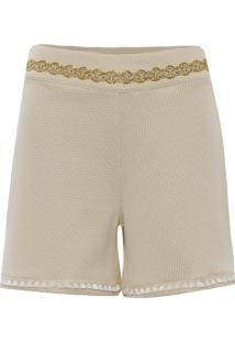Shorts Kika Simonsen Ziggy Off White E Branco