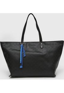 Bolsa Desigual Sacola Shopping Bag Nurs Preta - Preto - Feminino - Dafiti