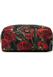 Dolce & Gabbana Nécessaire Floral - Preto