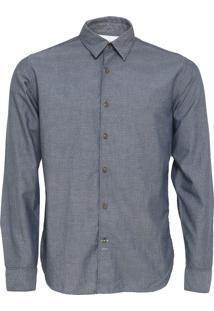 Camisa Timberland Lane Azul