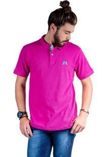 Camisa Polo Hipica Polo Club Estilo Classic Masculina - Masculino-Pink