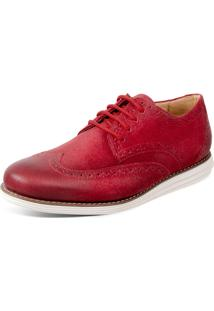 Sapato Sandro Moscoloni Olin Vermelho
