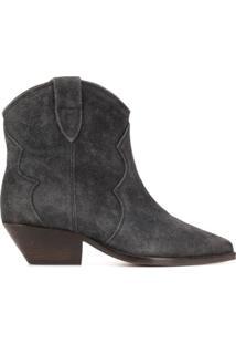Isabel Marant Dewina Ankle Boots - Cinza