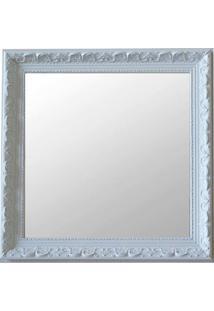 Espelho Moldura Rococó Raso 16375 Branco Art Shop