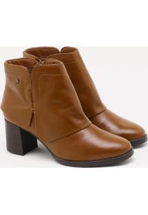 Ankle Boot Cravo & Canela Whisky