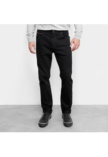 Calça Jeans Slim Tommy Jeans Scanton Blco Masculina - Masculino-Preto