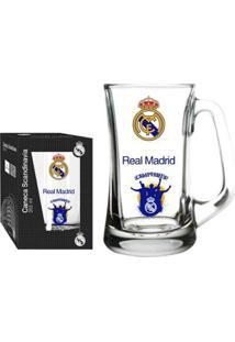 Caneca Scandinavia Real Madrid Torcida 355 Ml - Unissex