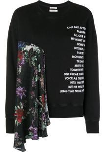 Each X Other Scarf Sweatshirt - Preto