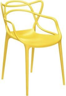Cadeira Masters Allegra Cor Amarelo