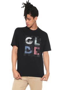 Camiseta Globe Grid Preta