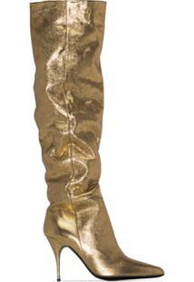 Zimmermann Bota Com Salto - Dourado