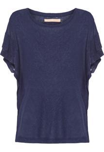 Blusa Feminina Melaine Griffith - Azul