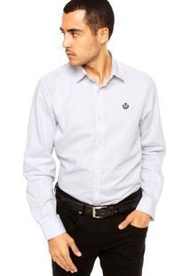 Camisa Forum Bordado Off-White