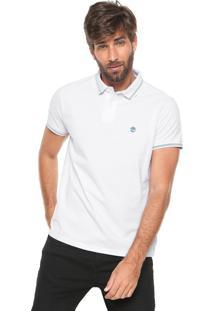 4049d1601e ... Camisa Polo Timberland Reta Stripes Branca