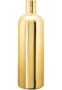 Vaso Liso- Dourado- 27Xã˜8,5Cm- Martmart