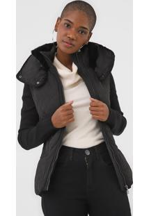 Jaqueta Desigual Matelassê Preta