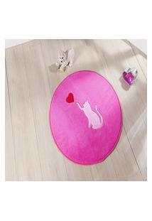 Tapete Premium Gato Love-Pink 65 Ø