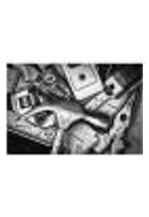 Painel Adesivo De Parede - Bricolagem - 029Pn-M