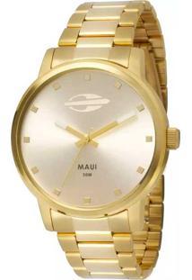 E Clock. Relógio Dobrável Analógico Tamanho Grande Feminino Dourado Technos  Mormaii ... 1a837de8d4