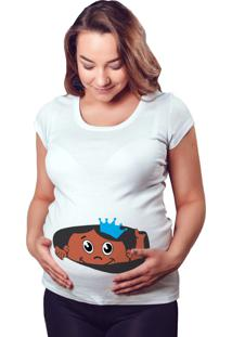 Camiseta Criativa Urbana Gestante Grávidas Espiando Bebe Negro Menino Engraçada Branca