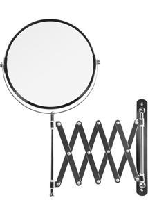 Espelho Com Braço Sanfonado Cromado